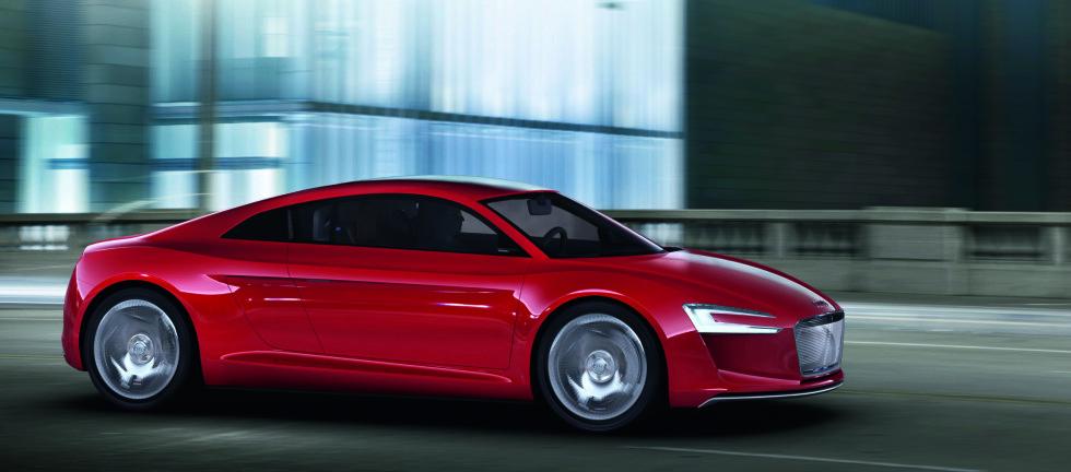 Audi bygger elektrisk sportsbil
