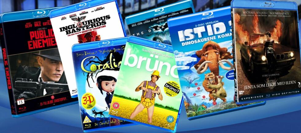 Hvorfor er Blu-ray-filmer fortsatt betydelig dyrere enn DVDer? Vi har spurt representanter for fem norske filmdistributører. Foto: Per Ervland