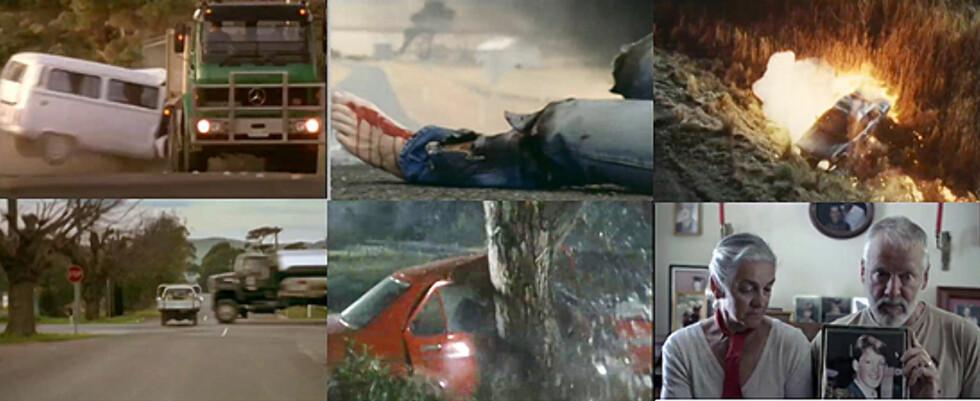 Scener fra TACs kampanjefilmer (se video nederst) Foto: TAC - Victoria