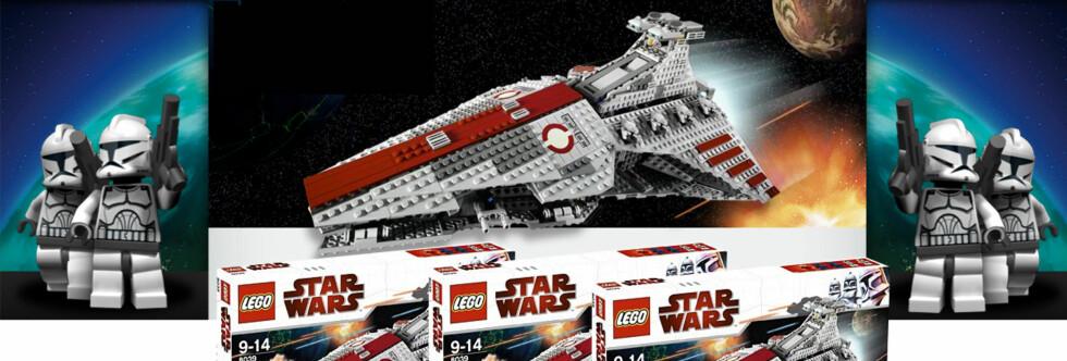 Foto: Lego/montasje