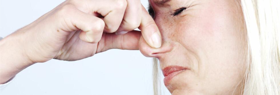 EFFEKTIVT TRIKS: Holder du pusten får du kroppen til å begynne å kvitte seg med karbondioksyd, framfor å hikke. Foto: Colourbox