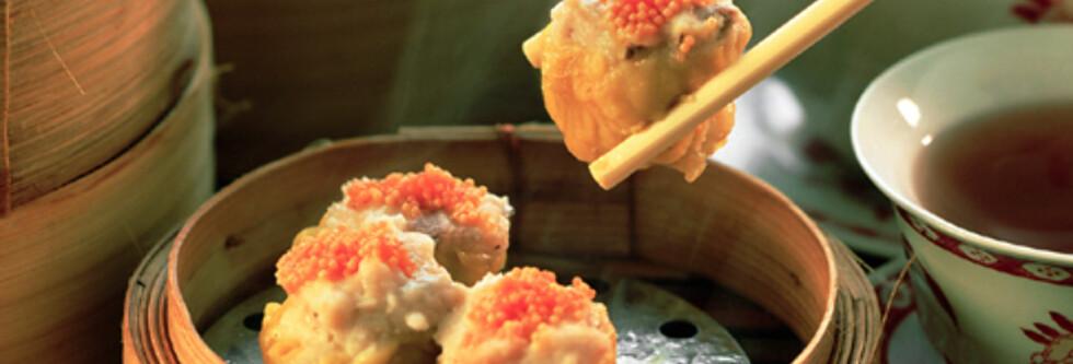 Dim sum er kinesernes svar på tapas - småretter som aller helst spises med te som drikke til. Illustrasjonsbilde. Foto: SXC