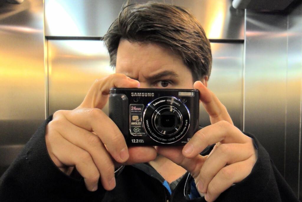 Samsung WB1000 blir siste kamera som deltar i vår test av HD-video på lommekameraer i denne omgang. Foto: Bjørn Eirik Loftås