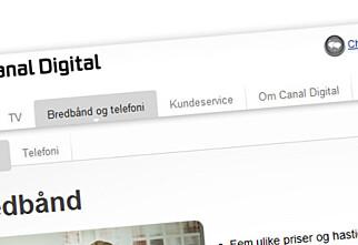 Canal Digital skrur opp hastigheten