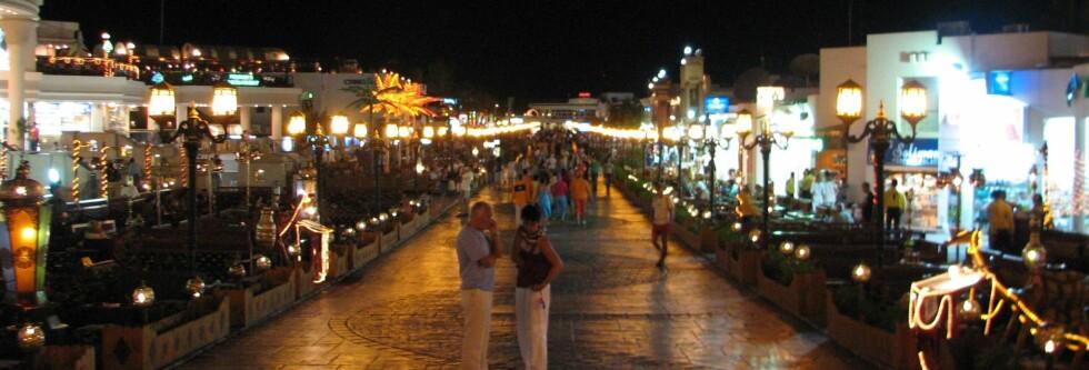 Sharm el Sheikhs hovedgate. Foto: Piotr S
