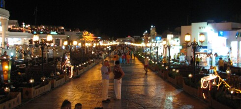 Ikke mye sjarm i Sharm el-Sheikh