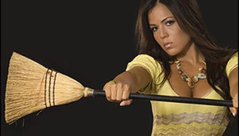 Ingen grunn til å ofre karriere for å holde huset rent. Det meste er unnagjort på under en halvtime. <i>Illustrasjonsfoto: iStockphoto.com</i>