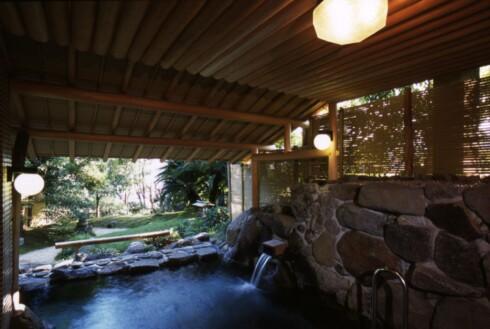 Naturlig varm kilde:  De beste ryokanene ligger på landsbygda. Foto: ©JNTO