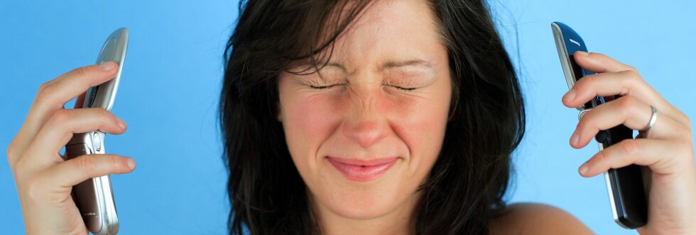 INGEN ØKNING: Andelen hjernesvulsttilfeller har ikke økt siden mobilbruken eksploderte på 90-tallet. Foto: Colourbox.com