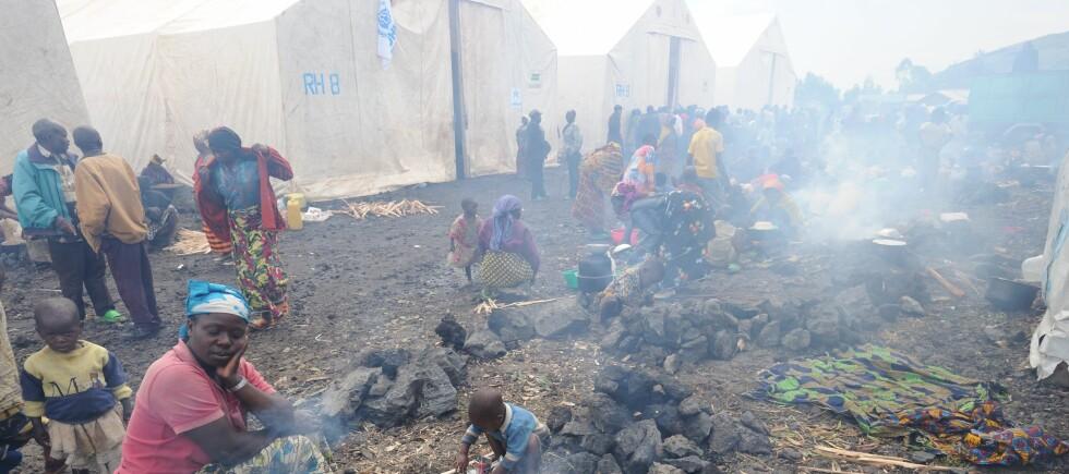 Det mangler ikke på behov:  Det mangler ikke på folk som godt kunne betenkes med en julegave, som disse flyktningene i Kongo. Men det kan virke som noen organisasjoner bruker uforholdsmessig mye penger på å samle inn penger. Foto: Julien Harneis - Lisens