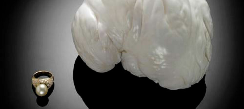 The Palawan Princess heter perlen som er verdens nest største. Foto: Bonhams