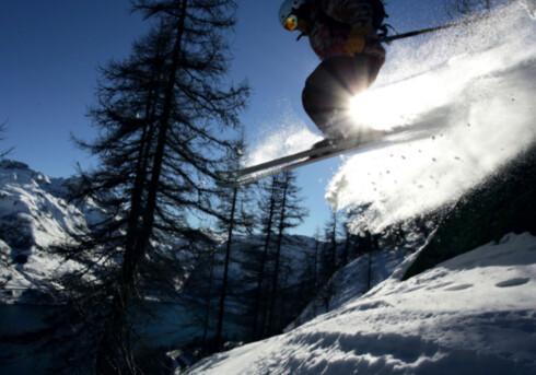 Tignes og Val d'Isère har bra skiforhold, og en isbre som eråpen for skikjørere ti av årets måneder. Foto: Tignes