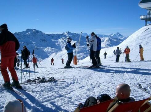 Val Thorens er populært blant nordmenn. Foto: Martin Hovden