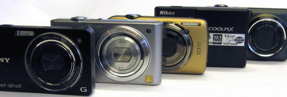 TEST: 5 lommekameraer med HD-video