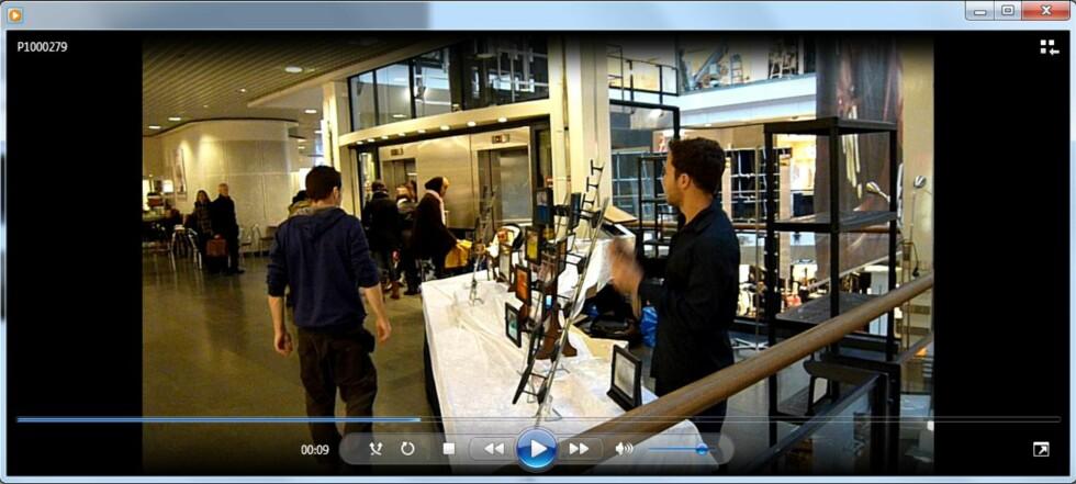 De beste kameraene lager detaljerte og skarpe videoer. Her et eksempel fra Panasonic.