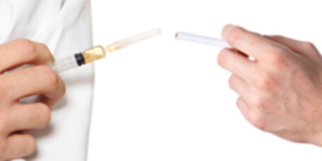 Røykevaksine snart på markedet