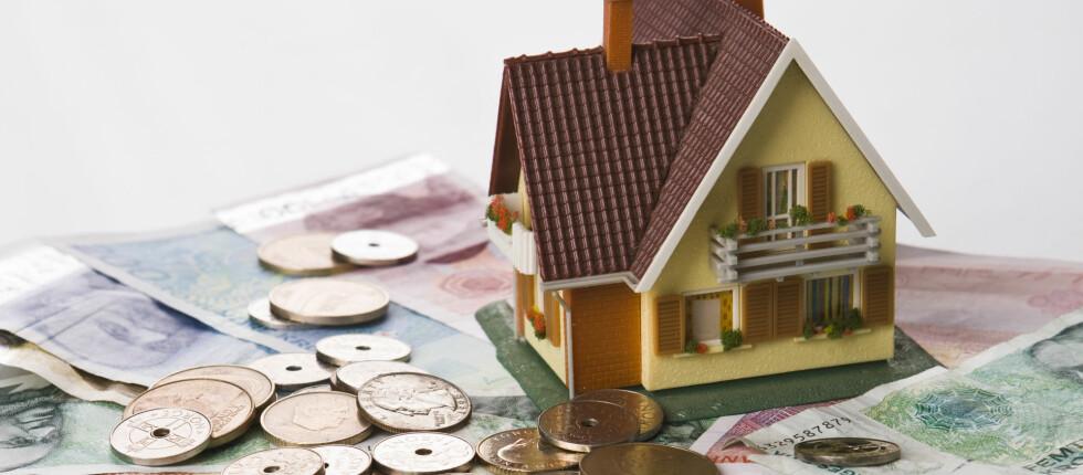 Det er penger å spare på økt boligverdi. Foto: COLOURBOX