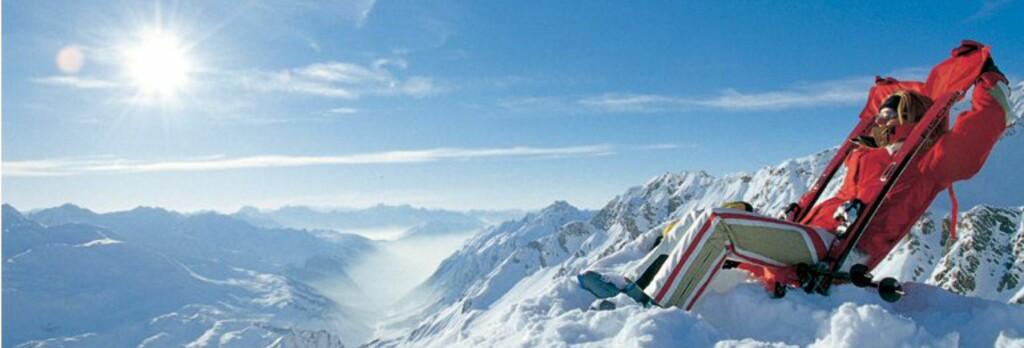 St. Anton i Østerrike er skiekspert Lars Bull personlige favoritt. Foto: St. Anton