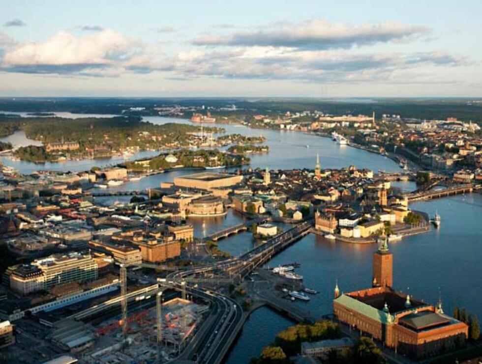 Stockholm - denne gang MED Stadshuset. Foto: Hotels.com