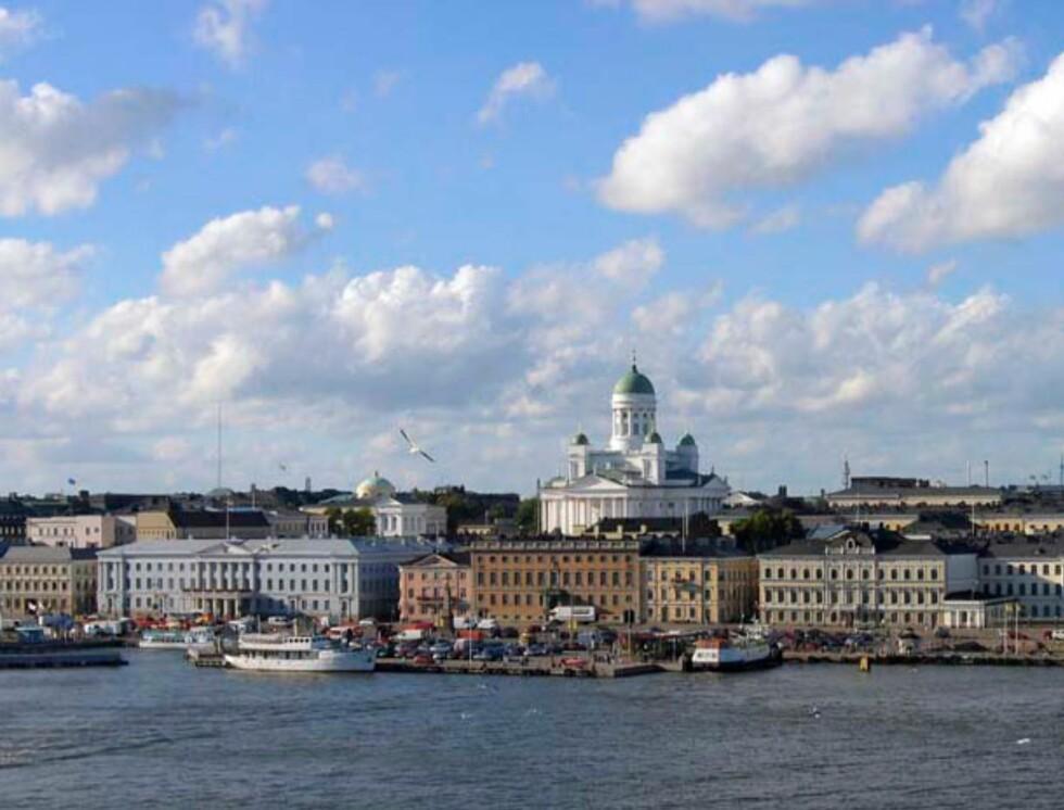 <strong>Lettere å se at det er Helsinki når katedralen er på plass? Foto:</strong> Hotels.com