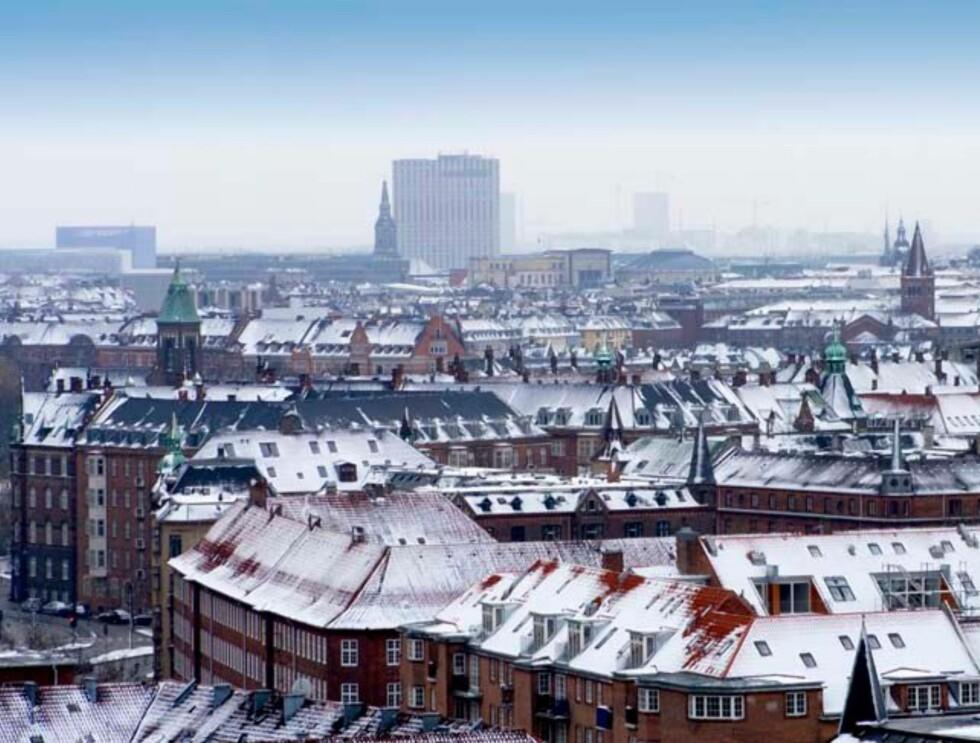 Storby i vinterlig skrud. Hvilken? Foto: Hotels.com