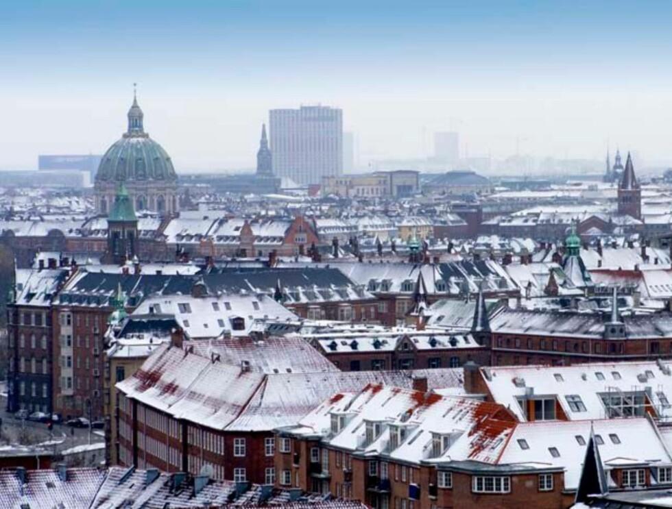 København - her med Marmorkirken på plass. Foto: Hotels.com