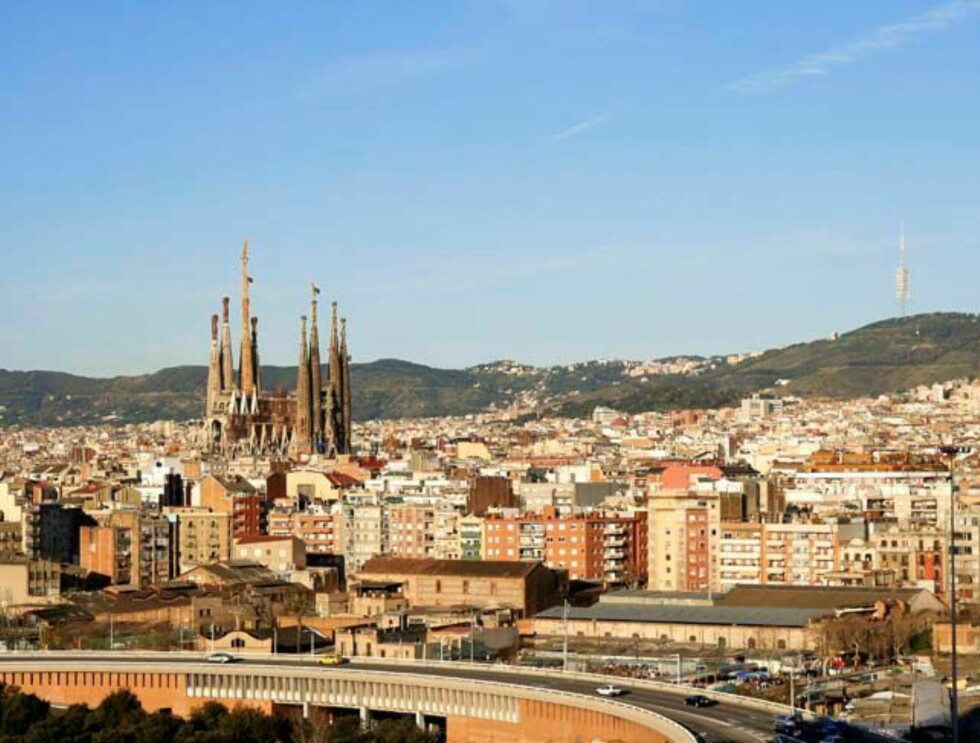 barcelona - nå med Sagrada Familia på plass. Foto: Hotels.com