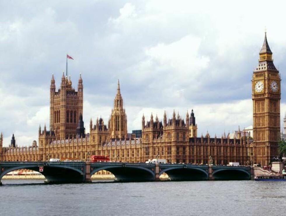 London selvsagt. Her ser vi Westminster MED Big Ben. Foto: Hotels.com