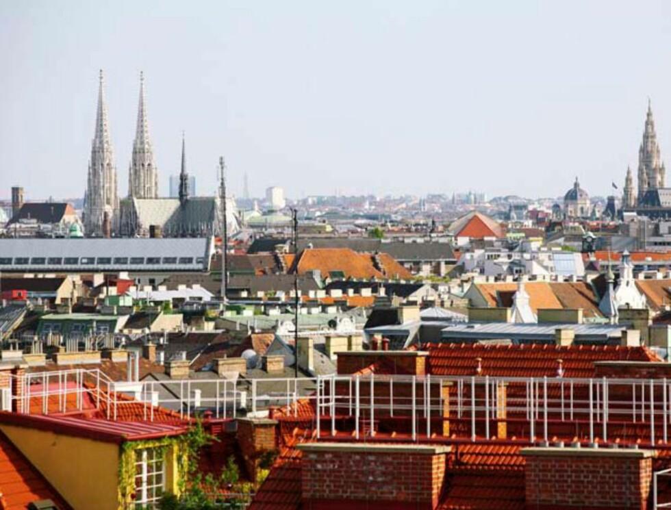 Her er Wiens rådhus med, som seg hør og bør. Foto: Hotels.com