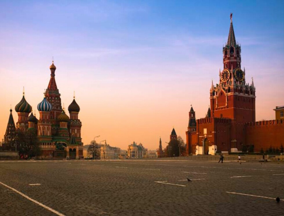 I Kreml, i Moskva. Foto: Hotels.com