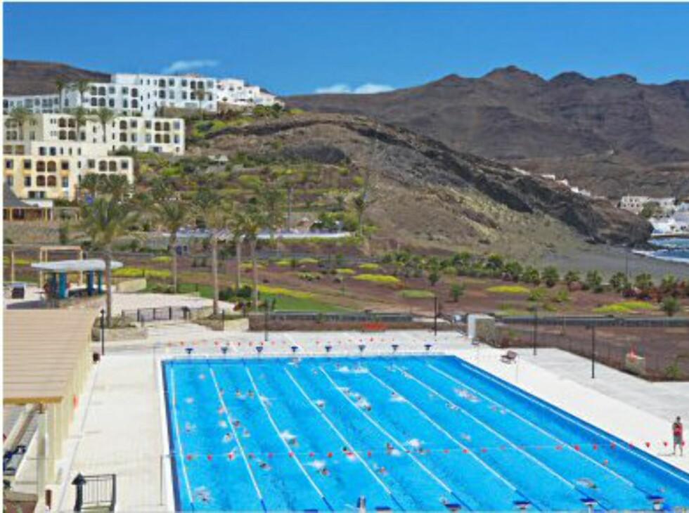Playitas resort ligger i den lille landsbyen Playitas, og er rettet mot den sporty turisten. Foto: Apollo