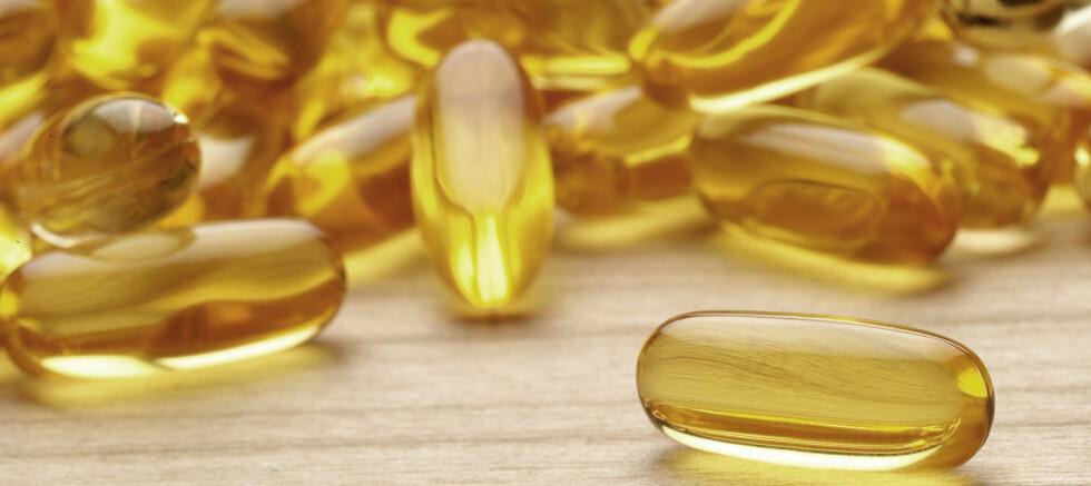 Folk flest ikke trenger andre vitamintilskudd enn tran. Foto: Colourbox