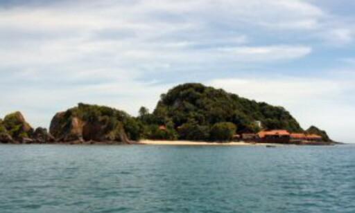 Gemia Island Resort er det eneste hotellet på den lille perlen av en tropisk øy. Foto: Stine Okkelmo