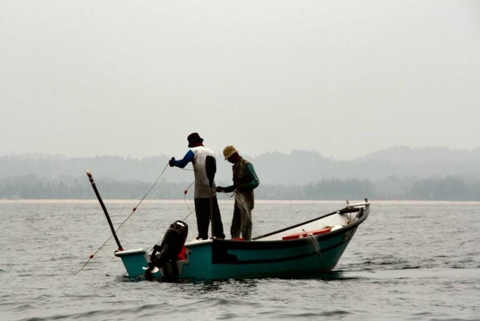 Fiske er den viktigste næringsveien for malayene i Terengganu, en av statene på Malaysias øsykyst. Malaysia består av 13 stater. Foto: Stine Okkelmo