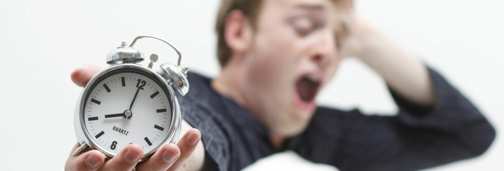 HENGER IGJEN: Effekten av noen dager med dårlig søvn kan henge igjen ei uke etterpå, ifølge forskning. Foto: Colourbox.com