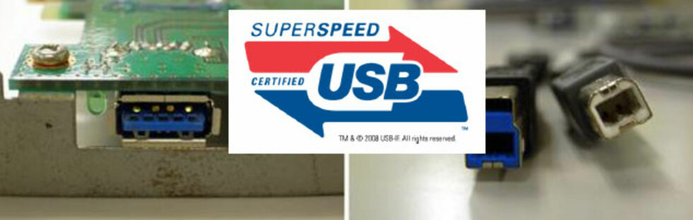 USB 3.0 - produktene kommer