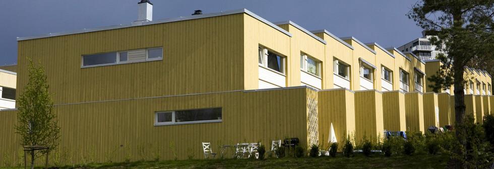 Oktober måned gikk mot normalt, og boligprisene steg med 0,4 prosent i snitt.  Foto: Per Ervland