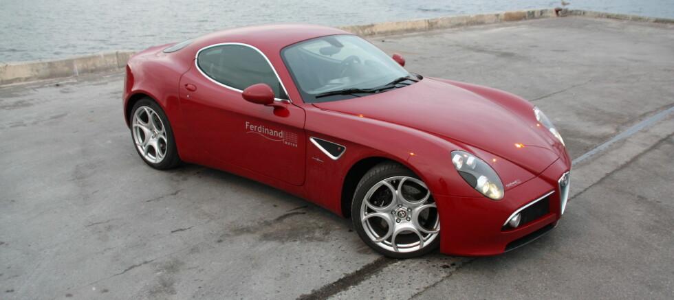 Alfa Romeo 8C: Eksotisk italiener