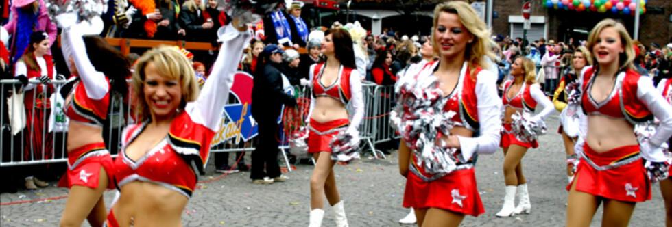 Tyskland byr på mer moro enn du tror. Her fra karnevalet i Düsseldorf. Foto: Kim Jansson