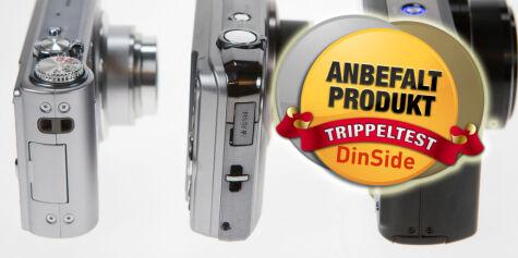 image: Trippeltest, 25-200mm kompaktkameraer