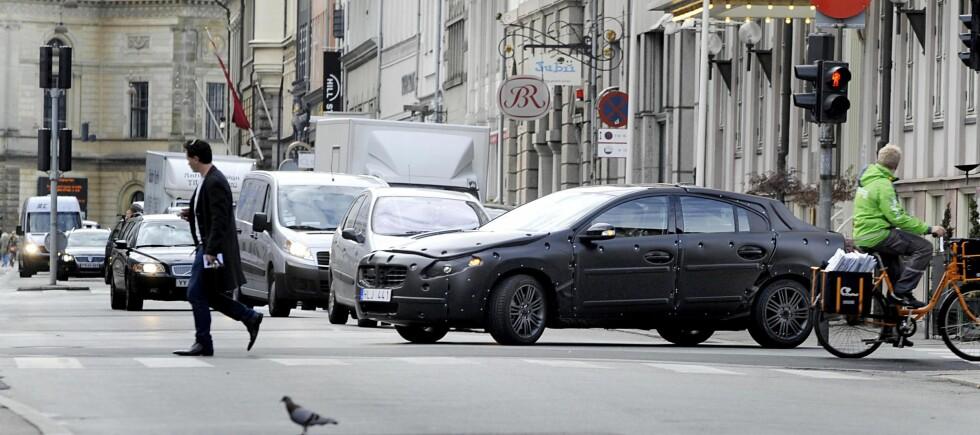 Pedestrian detection test drivein Copenhagen Foto: BLR Fotograferna AB