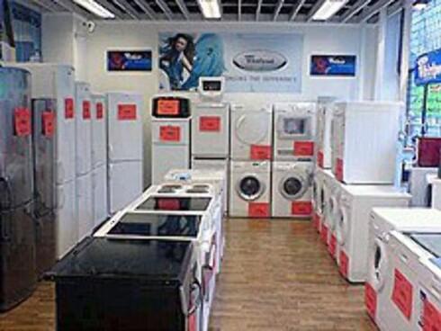 Fagerborg Elektro har alltid b-varer på lager.