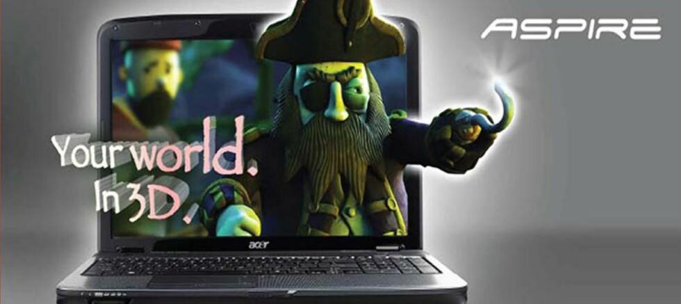 Acer klar med 3D-bærbar
