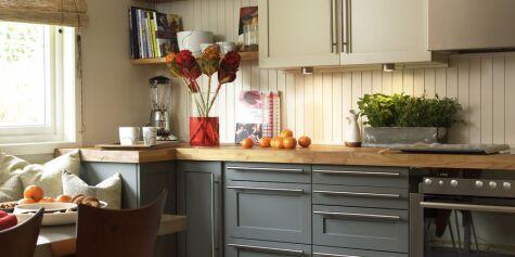 image: Nytt kjøkken på en ettermiddag
