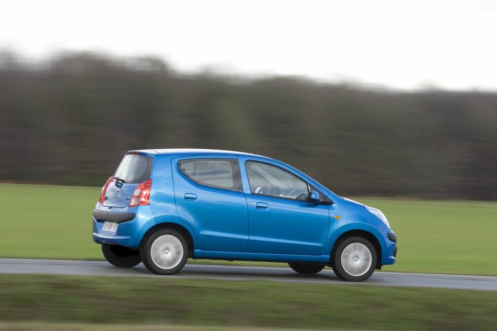 Nissan Pixo kan friste med innstegspris på drøye 117.000 kroner - og er dermed Norges rimeligste bil.