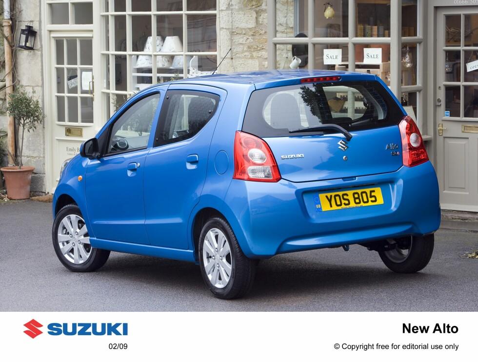 Tvillingen Suzuki Alto kommer sannsynligvis ved påsketider neste år. Den vil imidlertid ikke få en like lav innstegspris som Nissan Pixo.