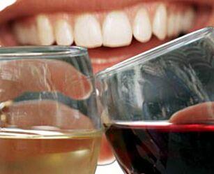 image: Hvitvin er verre enn rødvin