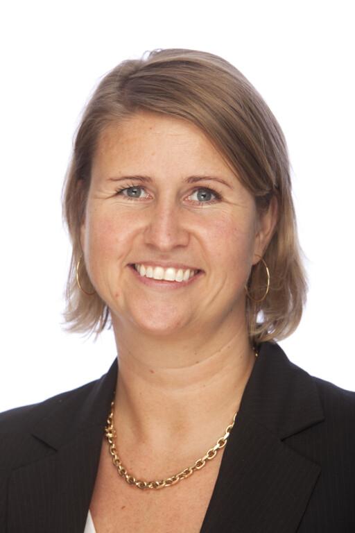 Hilde Fredheim Høgberg representerer Eurocard og DinersClub. De tilbyr nå forsikring mot ID-tyveri. Foto: Eurocard