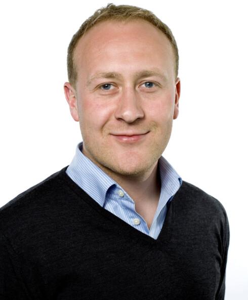 Øyvind Vederhus, kommunikasjonsjef i Netcom Foto: Netcom