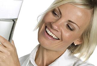 Folk som drikker vann spiser sunnere